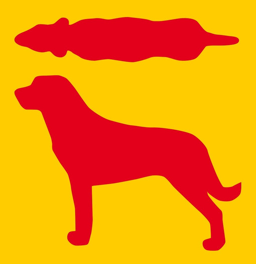 Hundesilhouette Idealgewicht
