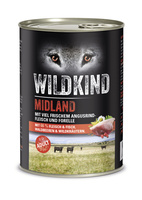 Hund Nassnahrung Adult Midland Angusrind Forelle