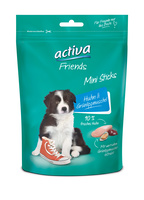 activa Friends Mini Sticks Junior Huhn & Grünlippmuschel Snack für Hunde