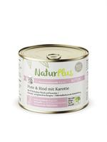 NaturPlus Katze Kitten Pute & Rind mit Karotte Nassnahrung
