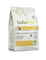 NaturPlus Senior Huhn mit Leinsamen & Karotte Hund Trockenfutter