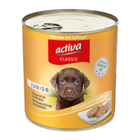 activa CLASSIC Hund Junior Nassfutter