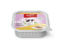activa CLASSIC Kitten Pastete mit Geflügel