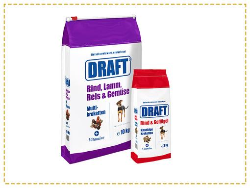 Hunde Trockenfutter DRAFT