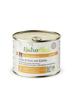 NaturPlus Junior Huhn & Pute mit Kürbis Hund Nassnahrung