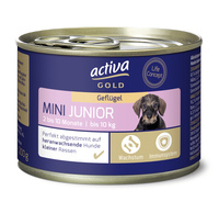 activa GOLD Nassnahrung Hund Mini Junior Geflügel
