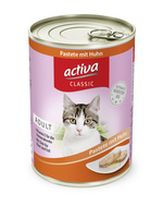 activa CLASSIC Katze - Pastete mit Huhn