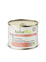 NaturPlus Adult Pute mit Birne Nassnahrung für Katzen