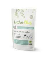 NaturPlus Katze Adult Huhn & Gans mit Möhre Nassnahrung