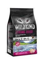 Hund Trockennahrung Adult Strong River mini Huhn & Lachs