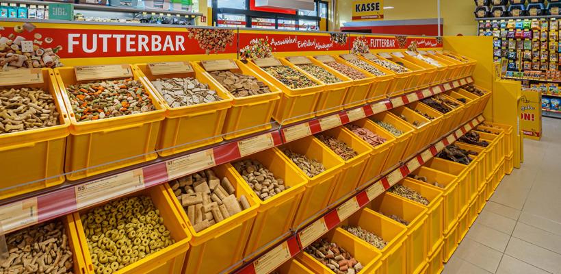 DAS FUTTERHAUS in Warstein: Die Futterbar