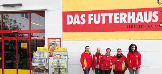 Die Mitarbeiter des Futterhauses in Detmold
