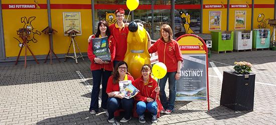 Ihr Futterhaus Team in Krefeld