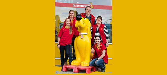 Teamfoto DASFUTTERHAUS Friedrichsdorf