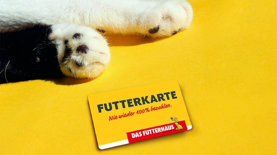 DAS FUTTERHAUS-FUTTERKARTE