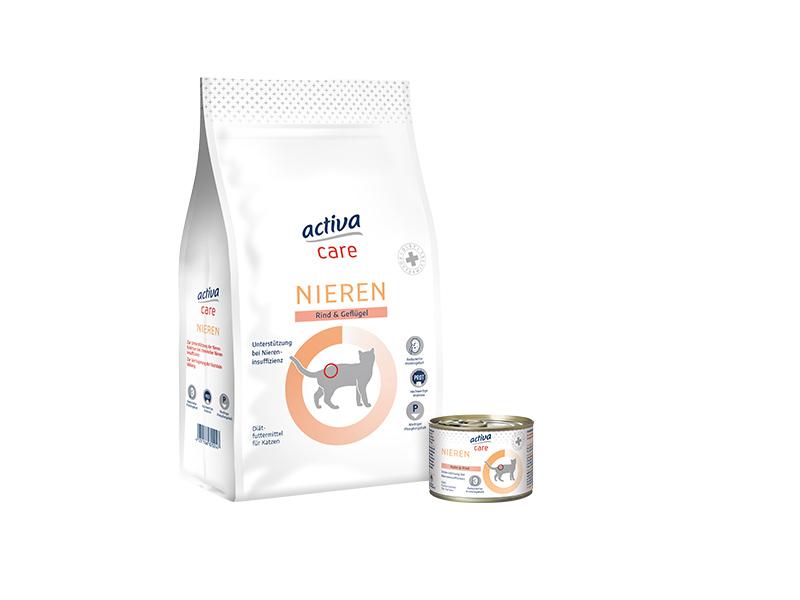 DASFUTTERHAUS activa care Katze Niere