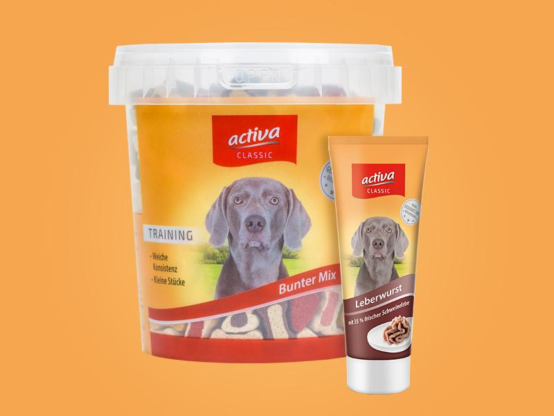 DASFUTTERHAUS activa CLASSIC Hund Snacks