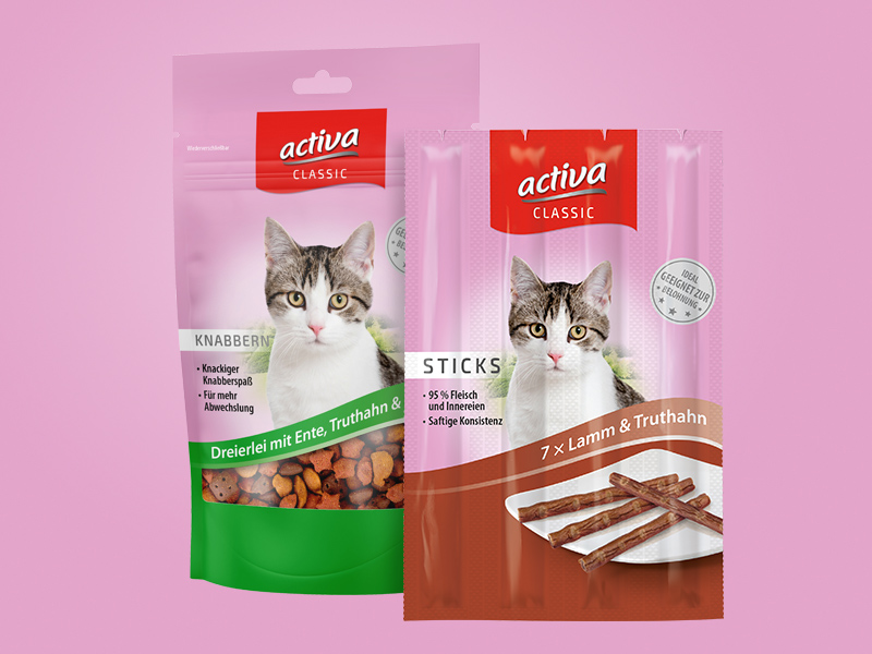 DASFUTTERHAUS activa CLASSIC Katze Snacks