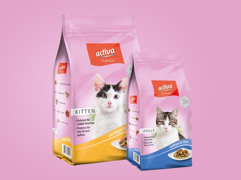 DASFUTTERHAUS activa CLASSIC Katze Trockenfutter