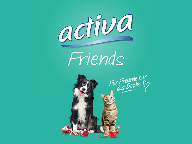activa Friends Tiernahrung