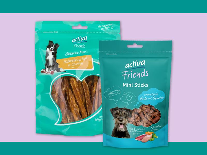 DASFUTTERHAUS activa Friends Hund Snacks
