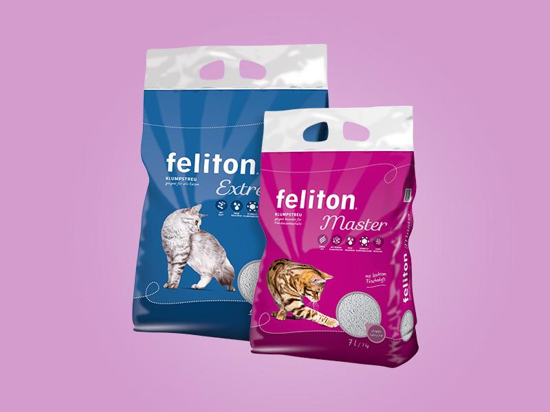 DASFUTTERHAUS feliton Premium Katzenstreu