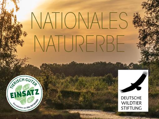 DASFUTTERHAUS unterstützt die Deutsche Wildtierstiftung
