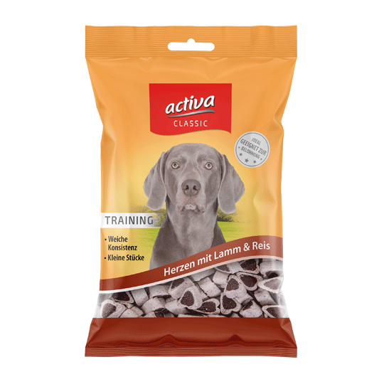 activa classic Hund Trainingssnacks