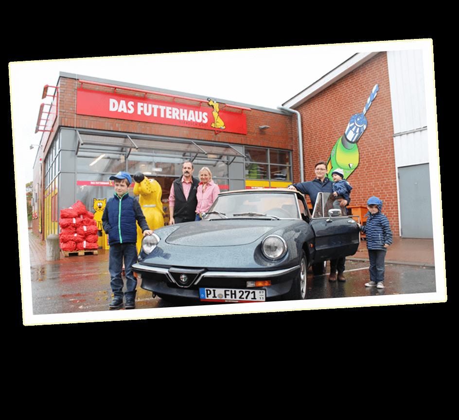 Alfa Romeo Übergabe in Eckernförde