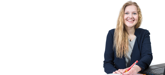 Ellen Schluifer, Azubi zur Kauffrau im Groß- und Außenhandel
