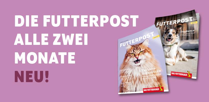 Futterpost - kostenloses Kundenmagazin bei Das Futterhaus