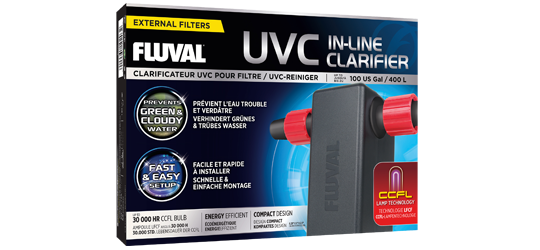 Fluval Aquarien UVC Klärer