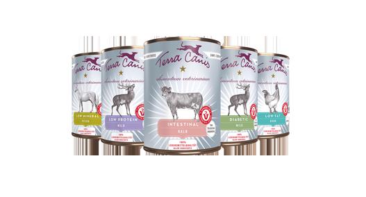Terra Cannis-Hundefutter Alimentum Veterinarium bei Das Futterhaus