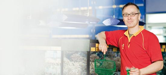 Das Futterhaus-Mitarbeiter