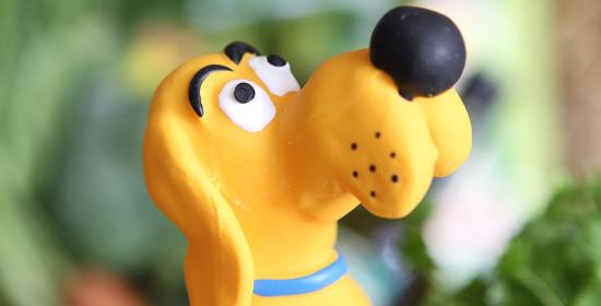 Gelber Hund Bekanntheitsgrad Futterhaus