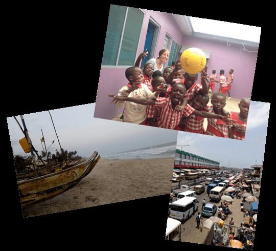 Collage Afrika