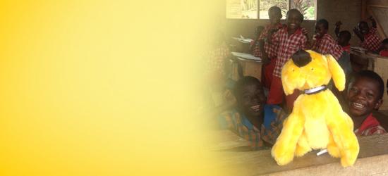 Gelber Hund in Afrika - DAS FUTTERHAUS
