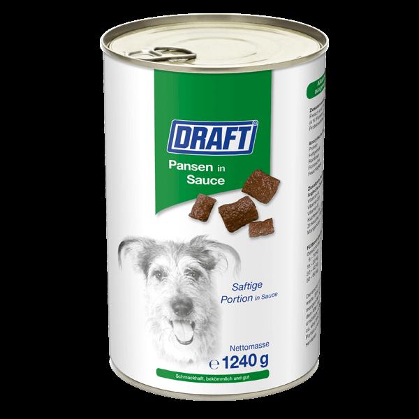 DRAFT Hund Pansen in Sauce