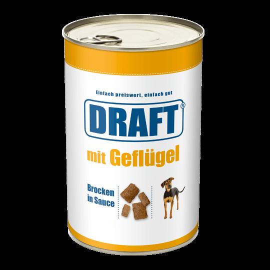 DRAFT Hund Gefluegel in Sauce