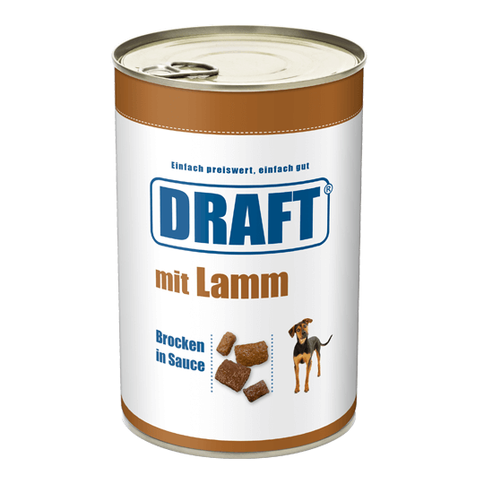 DRAFT Hund Lamm in Sauce