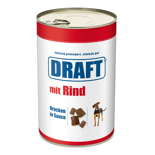 DRAFT Hund Rind in Sauce