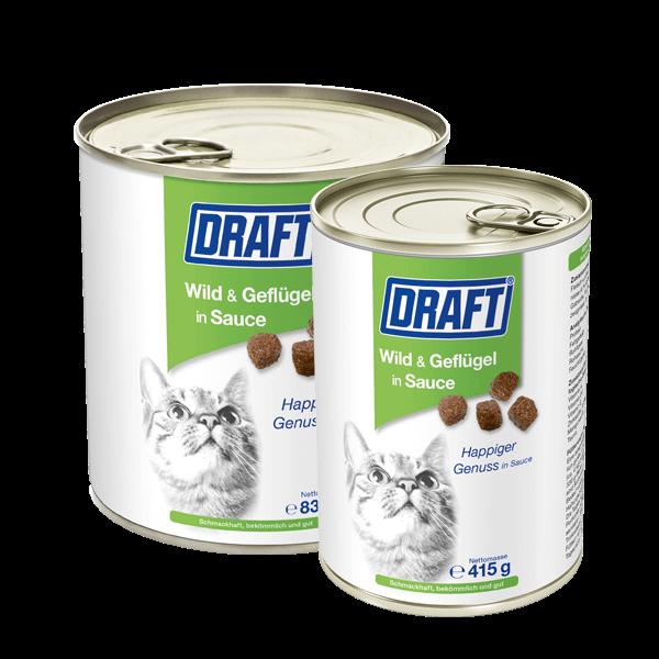 DRAFT Katze Wild Gefluegel in Sauce