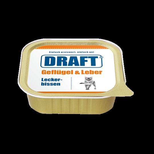 DRAFT Katze Schale Gefluegel Leber
