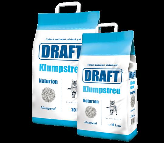 DRAFT Klumpstreu Naturton