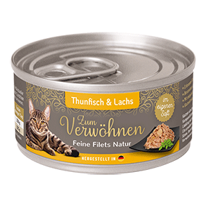 Zum Verwoehnen Feine Filets Natur Thunfisch und Lachs