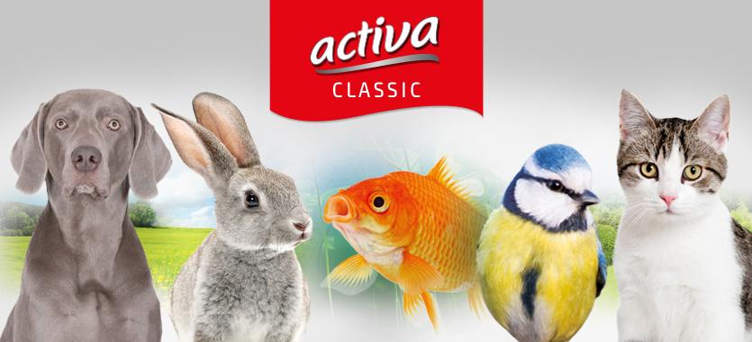 Exklusivmarke activa Classic bei Das Futterhaus