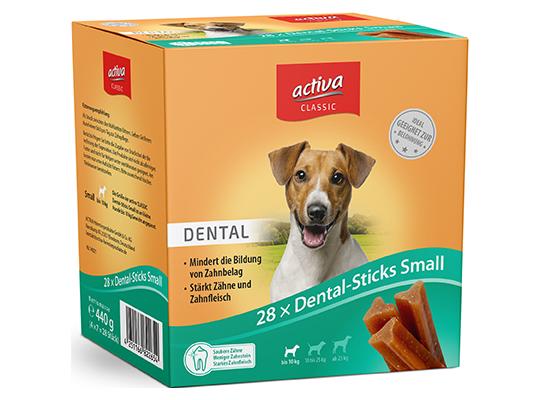 activa CLASSIC Snacks Hund Dental-Sticks Small