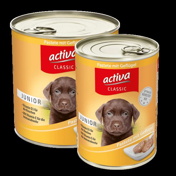 activa CLASSIC Junior Pastete mit Geflügel