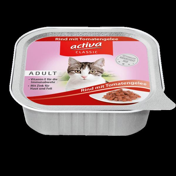 activa CLASSIC Katze Rind Tomate