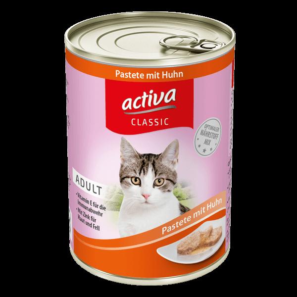 activa CLASSIC Katze Adult Dose Pastete Huhn